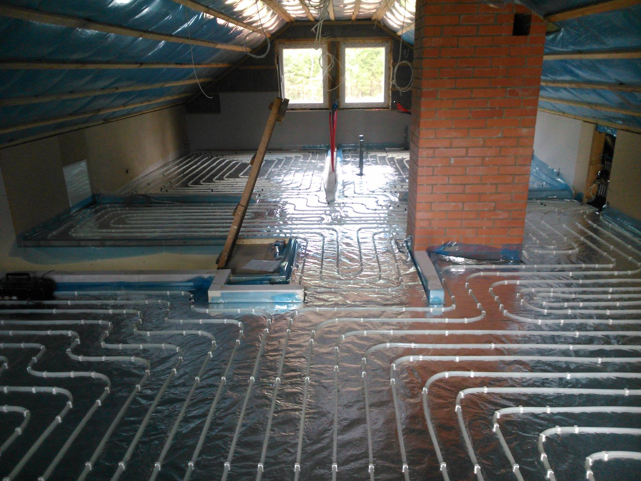 Põrandkütte paigaldus